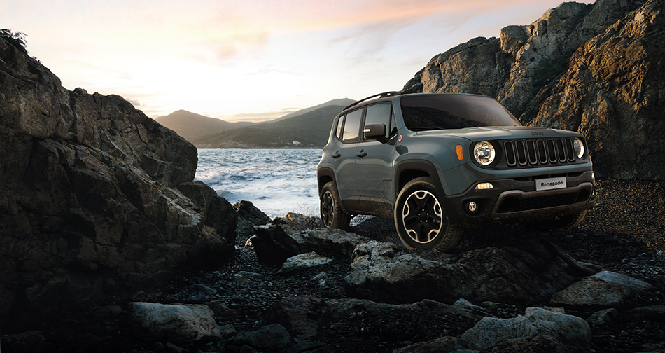Jeep Renegade 4x4 – off-road driving